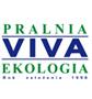 logotyp ekologicznej pralni viva