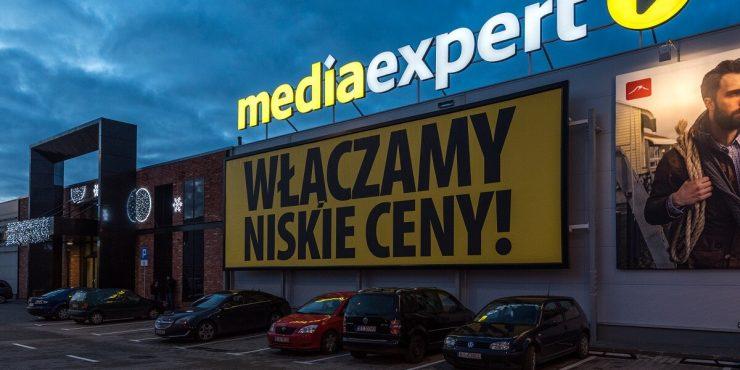 media expert nocą - banery białystok