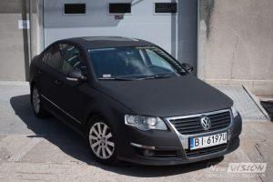 VW Passat oklejony przód