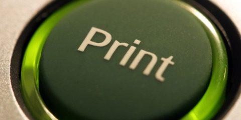 przycisk drukarki - druk wielkoformatowy białystok