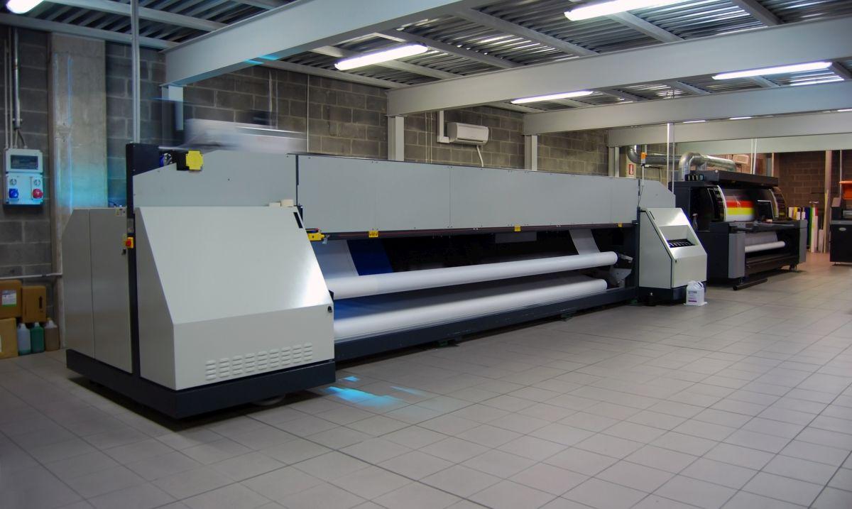 Sprzęt do druku wielkoformatowego